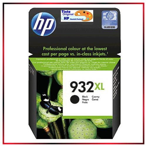 CN057AE - Nr.932 - original HP Black Tintenpatrone - CN057AE - HP Nr 932 Black = ca. 400 Seiten
