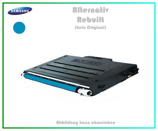 CLP510C Mehrweg Lasertoner für Samsung CLP510 Cyan - CLP510 D5C-ELS-K Inhalt ca.5.000 Seiten