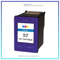 REF57 Refill Tintenpatrone HP Color C6657A, HP-57 - Inhalt 17ml (kein Original)