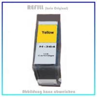 364C Alternativ Tinte Yellow für HP - CB325EE - Inhalt 14,2ml, mit Chip.