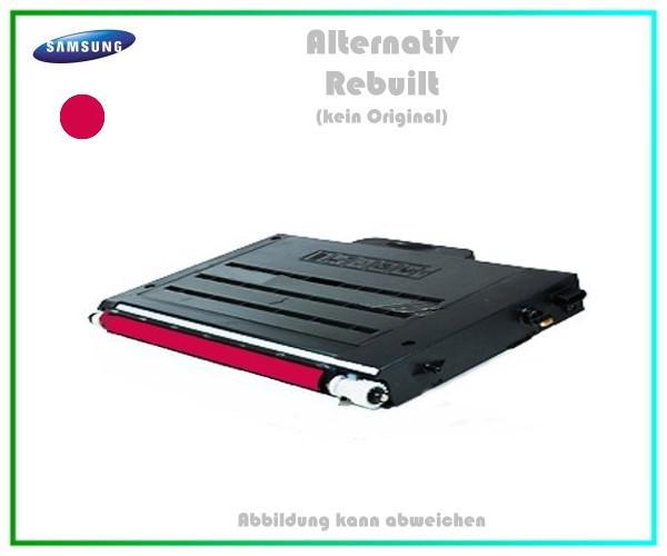 CLP510M Mehrweg Lasertoner für Samsung CLP510 Magenta - CLP510 D5M-ELS-K - Inhalt ca.5.000Seiten