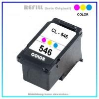 REFCL546XL, CL546XL, Refill COLOR für Canon 8288B001, PIXMA IP2850,IP 2850,MG-2450, Inhalt 13ml