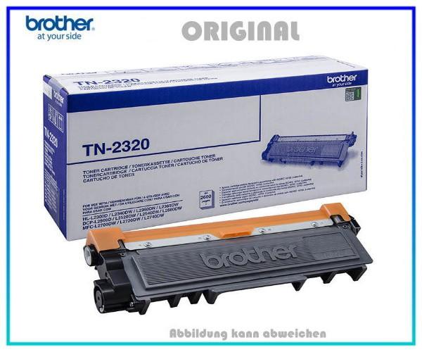 TN2320 - Black Original Toner fuer Brother HL - TN2320 - TN2340 - Inhalt fuer ca. 2.600 Seiten.