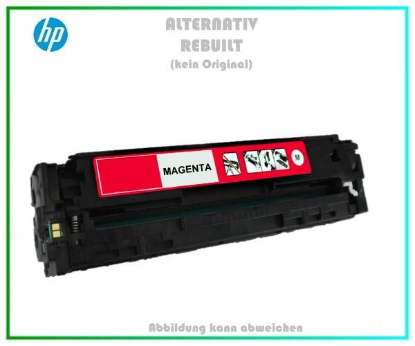 CB543A Mehrweg Lasertoner Magenta f. HP Laserjet - u. Canon LBP 5050 (716) - ca. 1.400 Seiten
