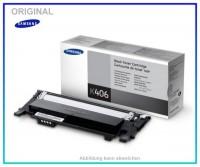 CLP360BK,CLT-K406S/ELS,Original Toner,Black,Samsung,CLTK406SELS,CLP360,CLP365,CLX3300,CLX3305,1500 S