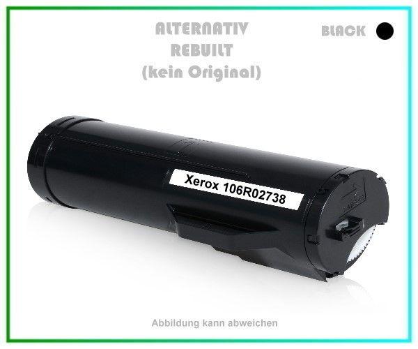Alternativ-Toner für Xerox 106R02738 Version Black - Schwarz, 14,4k, Inhalt 14.400 Seiten