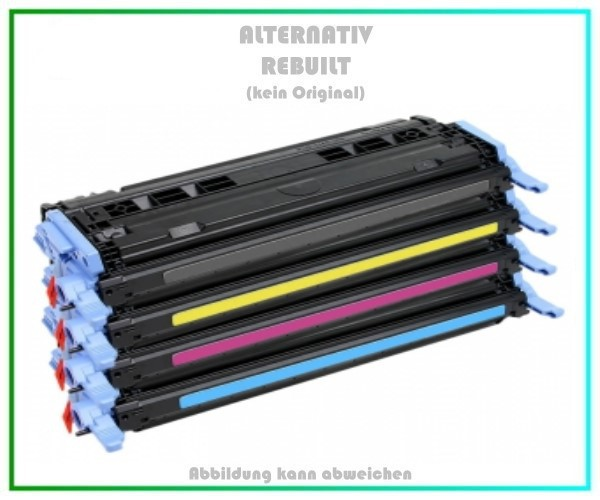 TONQ6000KIT Alternativ Toner Rainbowkit für HP, Q6000A, BK+C+M+Y, BK=2.500,COLOR= je 2.000 Seiten