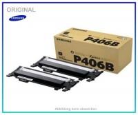 CLTP406BELS - CLP-360BK Doppelpack Original Toner Black Samsung CLTP406BELS, CLP360,CLP365,2X1500 Se