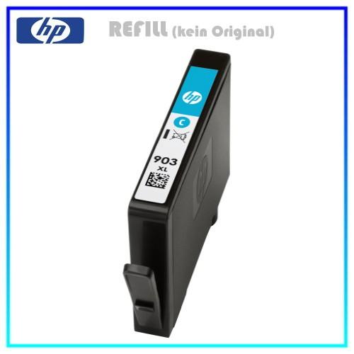 REF903XLC Refill Tinte Cyan für HP - T6M03AE - Inhalt ca. 10,0ml (kein Original)