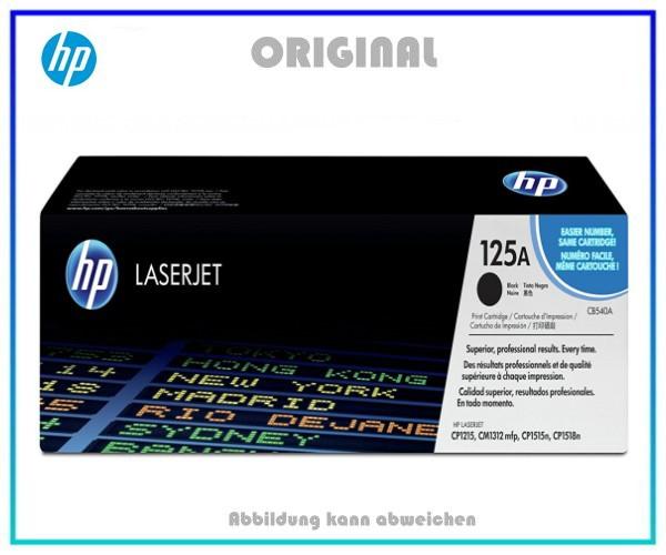 CB540A - 125A Lasertoner Original Black f. HP ColorLaserjet CM1312,CP1210,CP1215,CP1515N,2200 Seiten