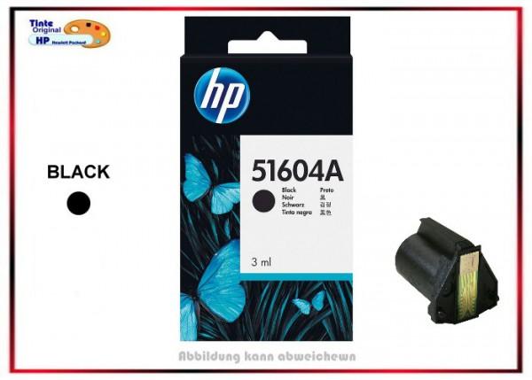 51604A Original HP THINKJET PRINTH BLK - Inhalt: 3ml - 500 Seiten - 51604A