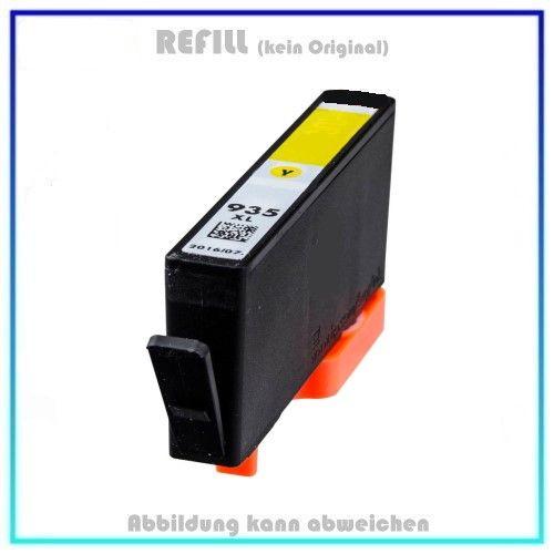 REF935XLY, Refill Tinte Yellow, REF935XL, für HP, C2P26AE - Inhalt 11,0ml, kein Original (PATENT SAF