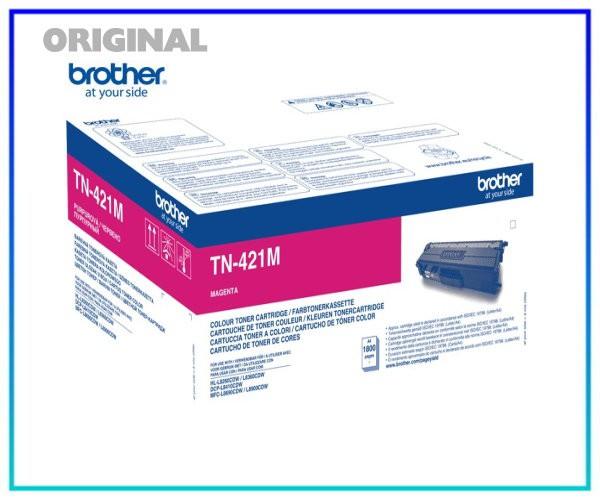 TN-421M Original Toner Magenta für Brother HL8260C - TN421M - Inhalt 1.800 Seiten