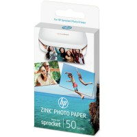 1DE37A - HP ZINK® Sprocket Fotopapier - 1DE37A - selbstklebend 50 Blatt 5 x 7,6 cm