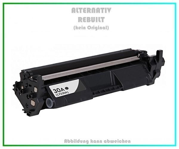 TONCF230A Alternativ Tonerkartusche Black für HP - CF230A - Inhalt 1.600 Seiten