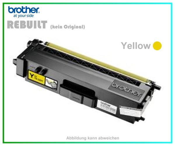 TONTN325Y - TN-325Y - TN320Y - Yellow - Mehrweg Lasertoner f. Brother - Inhalt ca. 3.500 Seiten