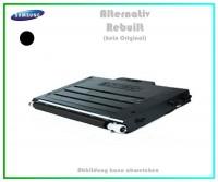CLP510BK Mehrweg Lasertoner für Samsung CLP510 Schwarz - CLP510 D7K-ELS-K - Inhalt ca.7.000Seiten