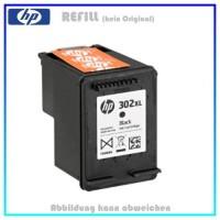 REF302BKXL - HP Refill Patrone Black f. F6U68AE - HP Nr 302BKXL - Inhalt ca. 18ml.