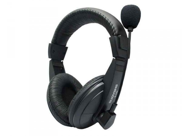 Stereo Headset für Mobile PC, Laptop, Tablet, PS4, XBOX, Schwarz, FA-750.