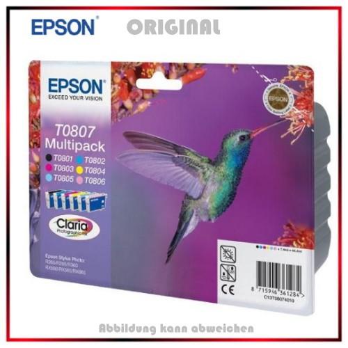 T0807 - C13T08074011 - Epson Original Multipack - BK + M + C + Y - je 7,4ml