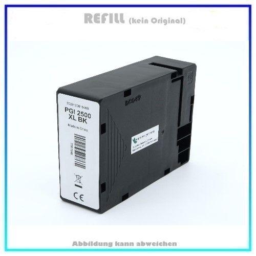 Bulk PGI2500XLBK Alternativ Tinte Black für Canon, 9254B001 - Inhalt: BK=74,6ml.