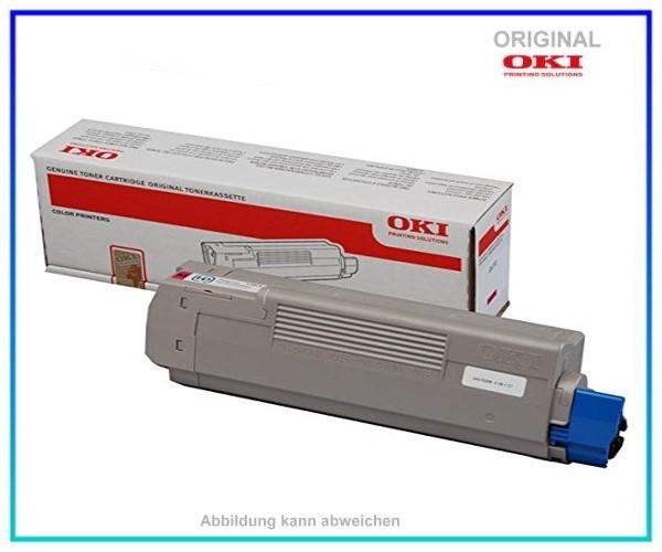 44315306 Original Tonerkartusche Magenta für OKI C610 - 44315306 - Inhalt 6.000 Seiten