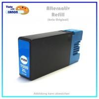 PGI1500XLC BULK Alternativ Tinte Cyan für Canon - 9193B001 - Inhalt ca. 16ml