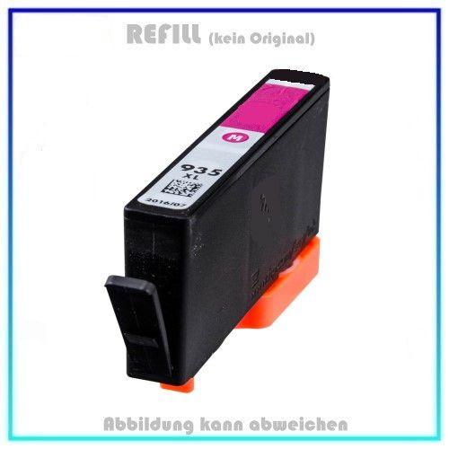REF935XLM, Refill Tinte Magenta, REF935XL, für HP, C2P25AE, Inhalt 11,0ml, k. Original (PATENT SAFE