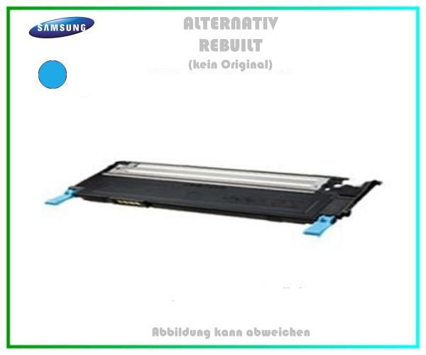 CLP310C Mehrweg Lasertoner cyan für Samsung CLP 310 - (CLT-C4092S/ELS) - Inhalt ca. 1.000 Seiten