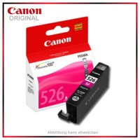 CLI526M - 4542B001 - Magenta- original Tintenpatrone f. Canon PIXMA iP4850 - MG5150 - MG5250 -