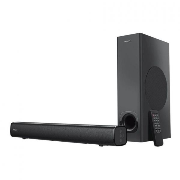 Creative Stage - 2.1-Hochleistungs-Soundbar mit Subwoofer für TV, Computer und Ultrawidebildschirme