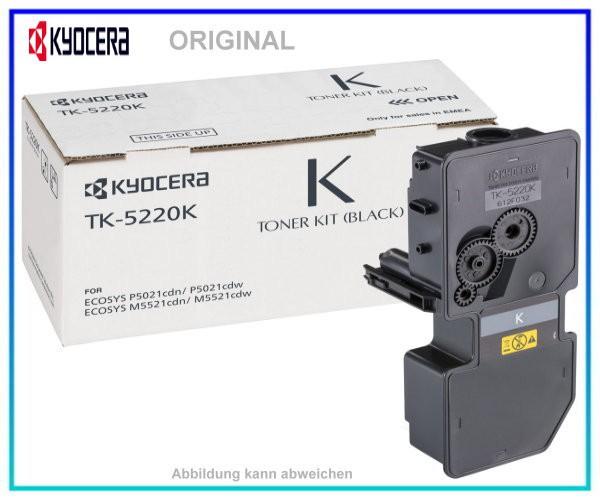 KYOCERA Toner Original Black TK-5220K - 1T02R90NL1 - Inhalt: 1.200 Seiten