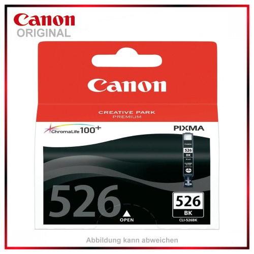 CLI526BK - 4540B001 - Schwarz Black - original Tintenpatrone f. Canon PIXMA - Inhalt: 9ml