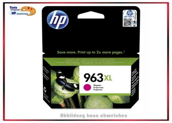 HP-963XLM, HP Ink Cart. 3JA28AE, 963XL, Farbe: Magenta für Office Jet Pro, 3JA28AE, Inhalt 23,25 ml,
