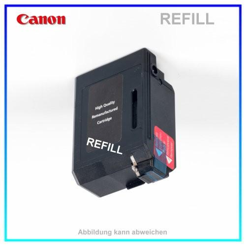 REFBX3 Befüllte Tintenpatrone für Canon B-100 - B-110 - B-150 - Multipass 10 - Telekom T-Fax360