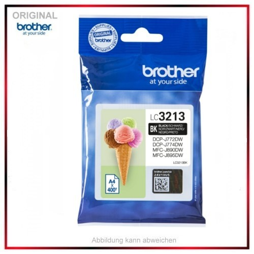 LC3213BK Original Tinte Black Brother (BK) LC3213BK - Inhalt: 400 Seiten.