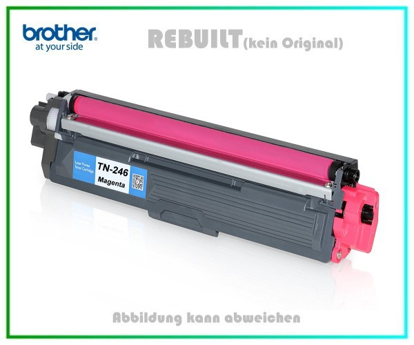 TONTN246M Alternativ Toner Magenta Brother TN241, TN242, TN245, TN246, TN246M Inhalt 2.200 Seiten