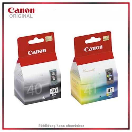Multipack PG40-CL41 - 0615B043 Original Canon Pack Tintenpatronen T 0615B043 - BK=16ml - Color=12ml