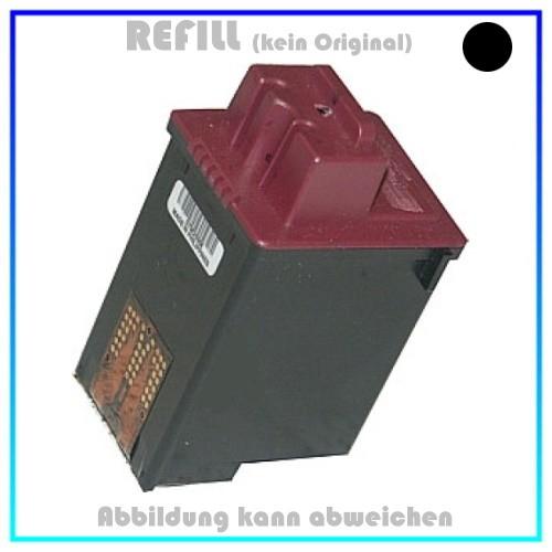 REF400HC Befüllte Tintenpatrone, schwarz f. Lexmark - M10, CJP1000, 1020, 2030, 2050, 3000, 21 ml