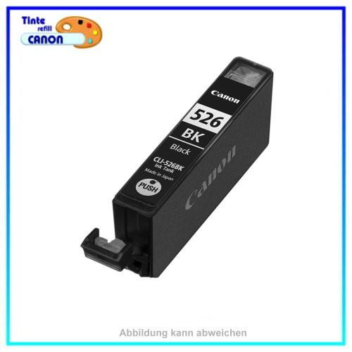 BULK CLI526BK Alternativ Tinte Black für Canon - 4540B001 - Inhalt ca. 10ml mit Chip (kein Original)