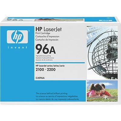 C4096A - (96A) - Lasertoner Original Black f. HP Laserjet 2100 - LJ2100M - LJ2100TN - LJ2200D - LJ22
