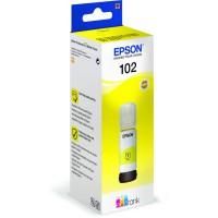 C13T03R440 - Original, EPSON ET2700 TINTE Yellow - 102 ECOTANK PIGMENT Yellow INK BOTTLE