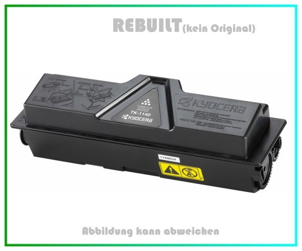 TK1140 Alternativ Toner mit Chip Black fuer Kyocera FS 1035 MFP - FS 1135 MFP - Inhalt ca. 7.200 S.