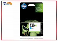 HP-920XL, CD972AE, Original HP Tintenpatrone Cyan, Inhalt 6ml