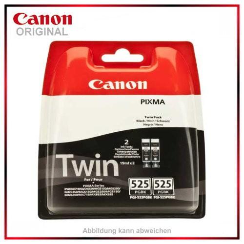 PGI525BK - 4529B006 - Doppelpack - original -Tintenpatrone black f. Canon Pixma - iP4850 - MG5150 -