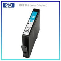 REF903XLC Refill Tinte Cyan für HP - T6M03AE - Inhalt ca. 14,2ml (kein Original)