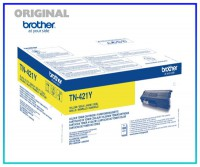 TN-421Y Original Toner Yellow für Brother HL8260CD - TN421Y - Inhalt 1.800 Seiten
