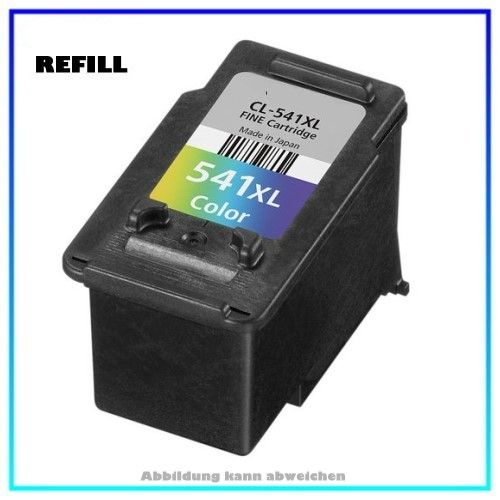 Bulk CL541XL Alternativ Tintenpatrone Color für Canon 5226B005 - CL541XL - Inhalt ca. 25ml