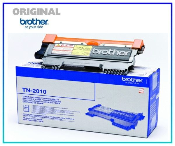 TN-2010 Original Toner für Brother HL-2130, TN-2010 - Inhalt 1.000 Seiten.