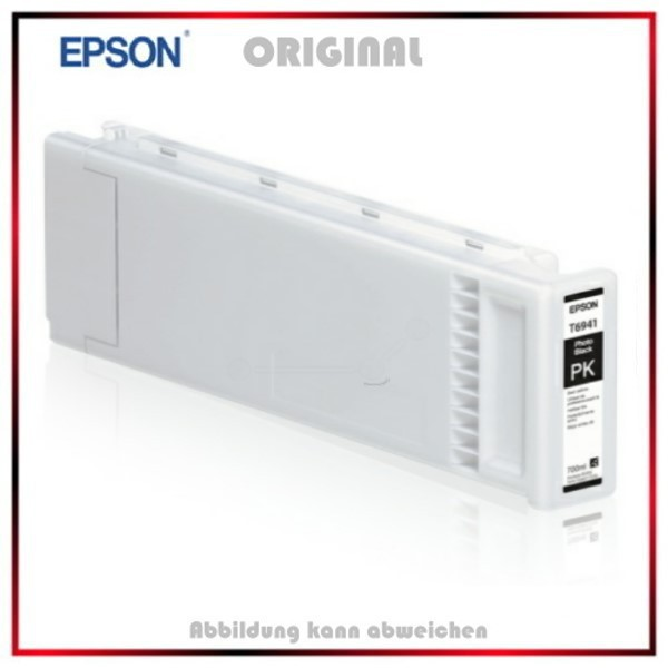 Epson C13T694100, Original Tintenpatrone,UltraChrome XD photo black,700 ml,T 6941,C 13 T 694100.